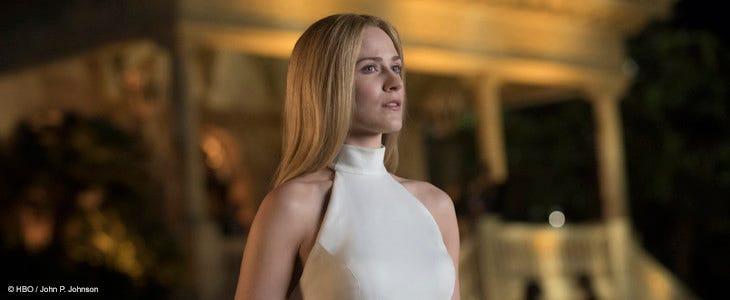 Evan Rachel Wood, dans la 3e saison de Westworld.