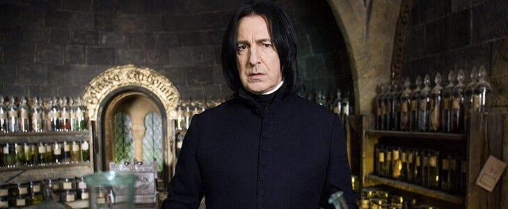 Alan Rickman dans Harry Potter et l'Ordre du Phénix
