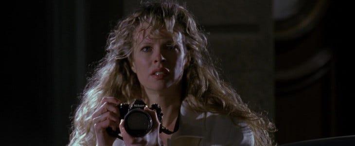 Kim Basinger dans Batman, en 1989