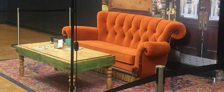 Le canapé de la série Friends au Comic Con Paris 2019