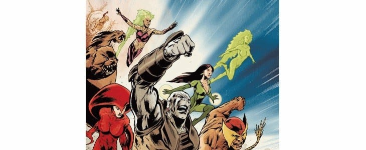 Global Guardians - DC Comics