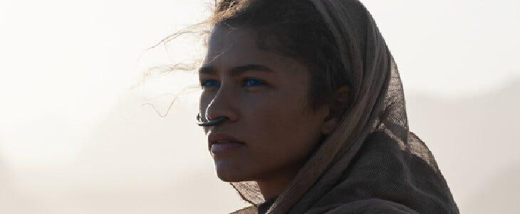 Zendaya dans le film Dune.