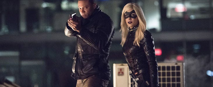 Black Canary dans Arrow