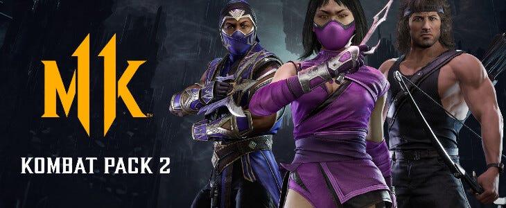 Le Kombat Pack 2 de Mortal Kombat 11.