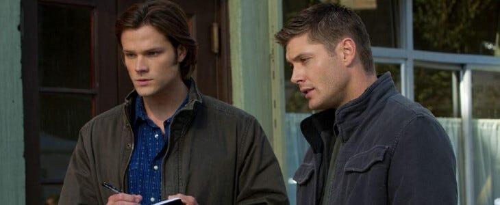 Supernatural, les frères Winchester.