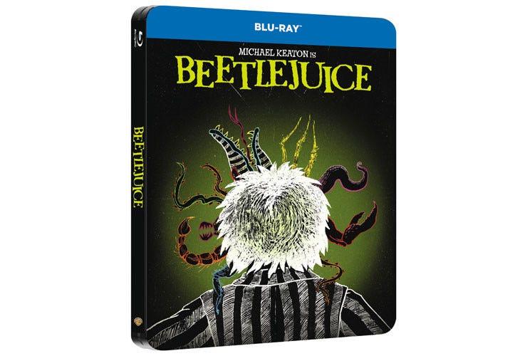 Beetlejuice en Steelbook