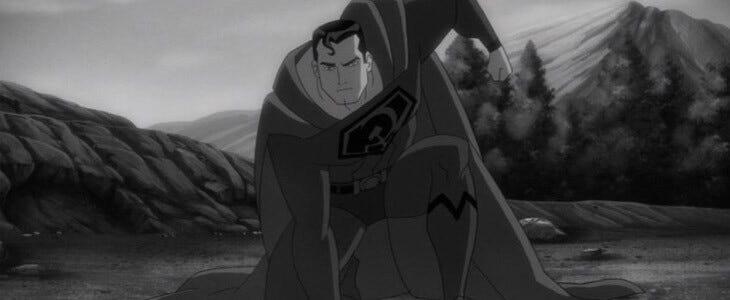 Superman dans le film d'animation Superman : Red Son