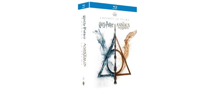 Intégrale Wizarding World - 10 films