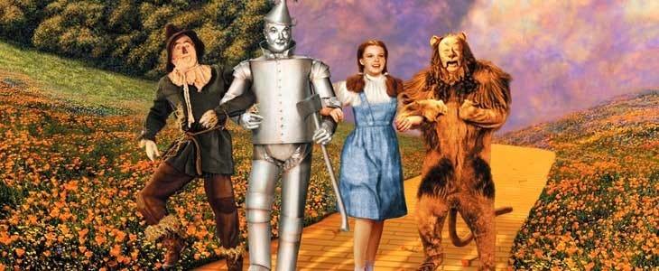 Le Magicien d'Oz avec Judy Garland