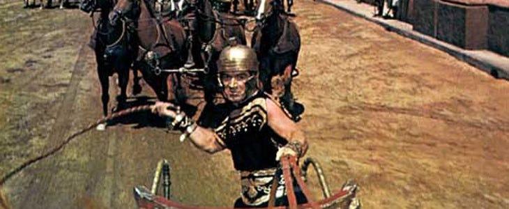 L'arène de la course de chars de Ben-Hur