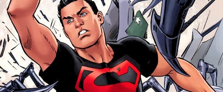 Le super-héros Superboy
