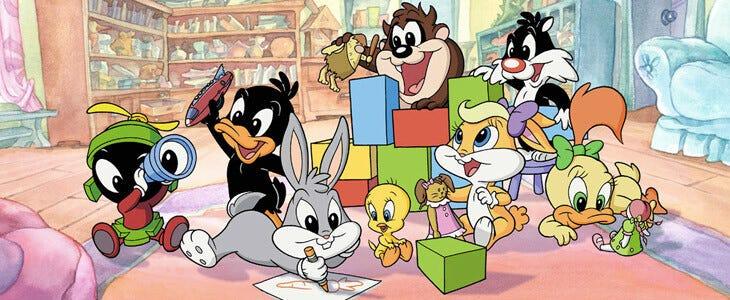 Bugs Bunny et ses amis dans la série Baby Looney Tunes