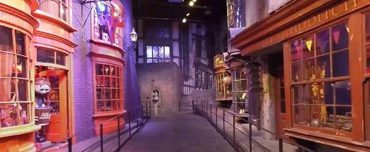 Harry Potter Studio Tour - Chemin de Traverse
