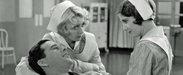 L'Ange Blanc, film issu de la collection Forbidden Hollywood.
