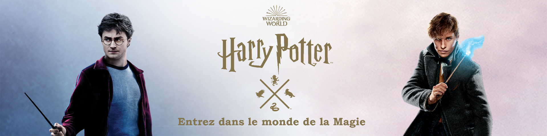 La boutique officielle Wizarding World - Harry Potter - Les Animaux Fantastiques