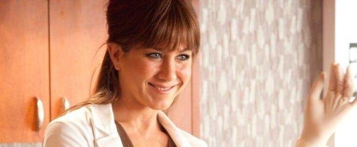 Jennifer Aniston, dans Comment tuer son boss.