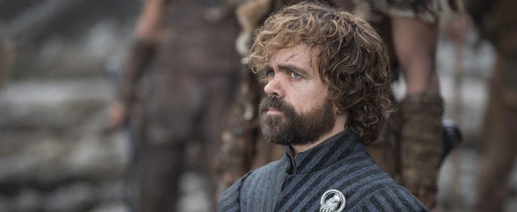 Tyrion Lannister, dans Game of Thrones.