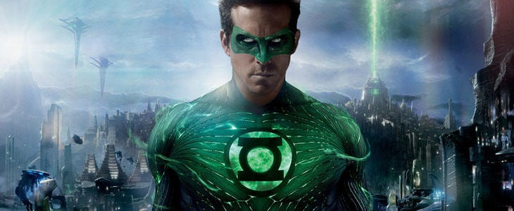 Green Lantern incarné par Ryan Reynolds
