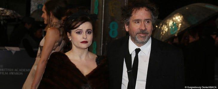 Tim Burton et Helena Bonham Carter.