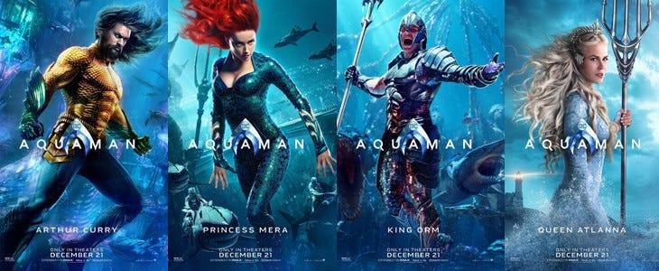 Affiches Aquaman