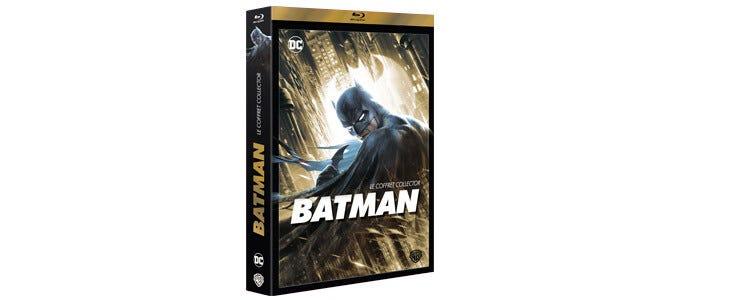 Six films animés de l'univers Batman dans un seul et même coffret !