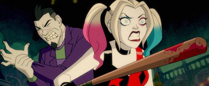 La série animée Harley Quinn est diffusée sur la chaîne Toonami en France.