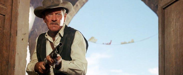 William Holden (Pike) dans La Horde Sauvage