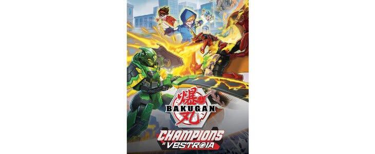 Bakugan : Champions de Vestroia : rendez-vous le 4 novembre.
