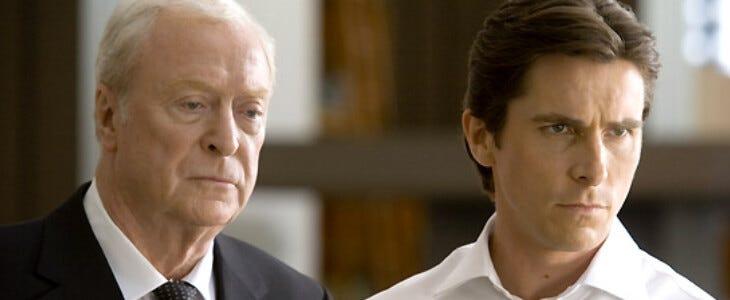 Michael Caine, l'acteur fétiche de Nolan.