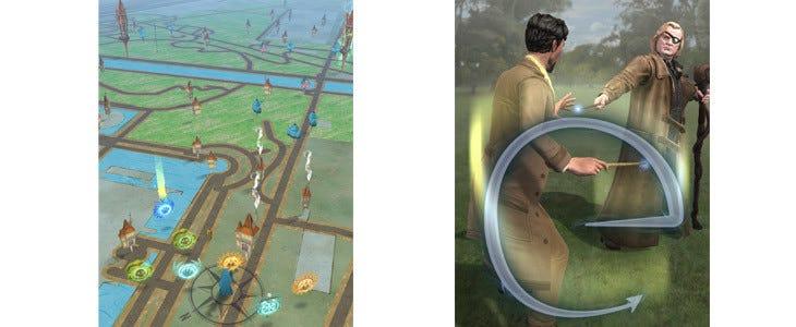 Un aperçu du gameplay d'Harry Potter Wizards Unite