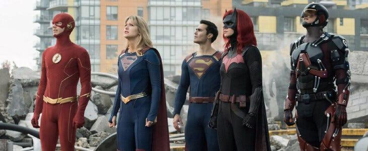 Les héros des séries de l'Arrowverse dans le crossover Crisis on Infinite Earths