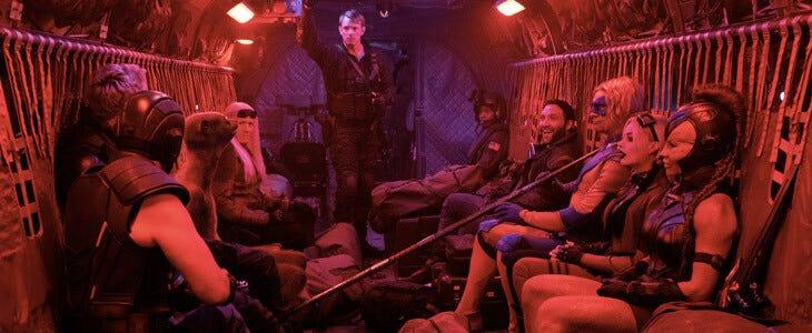 La bande de criminels la plus tarée de l'univers DC reprend du service dans The Suicide Squad !