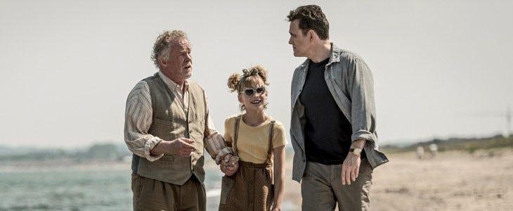 Nick Nolte, Sophia Lane Nolte et Matt Dillon dans Du Miel plein la tête