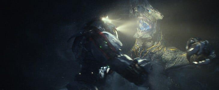 """Robots contre monstres """"kaiju"""" dans Pacific Rim"""