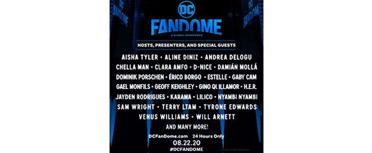 De nombreux invités seront présents lors du DC FanDome !