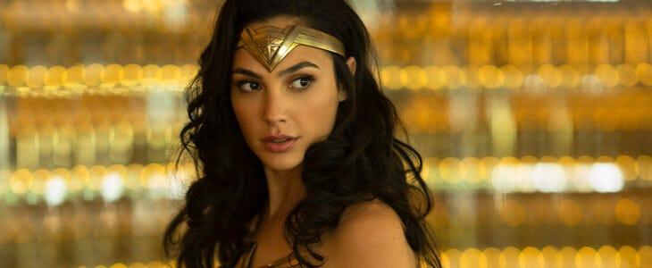 Gal Gadot dans le film Wonder Woman 1984.