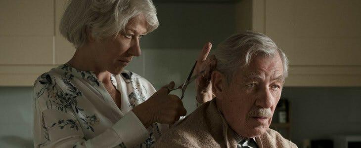 Helen Mirren et Ian McKellen, dans l'Art du mensonge.