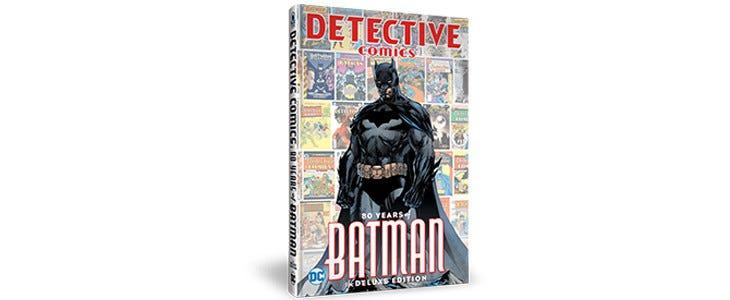 L'édition collector du 1000e exemplaire de Detective Comics.