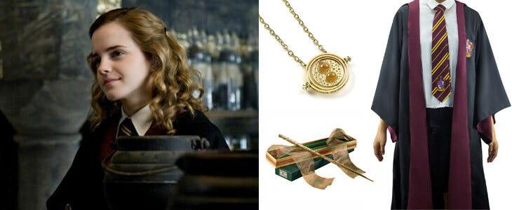 Pour Halloween, habillez-vous comme la sorcière Hermione Granger !