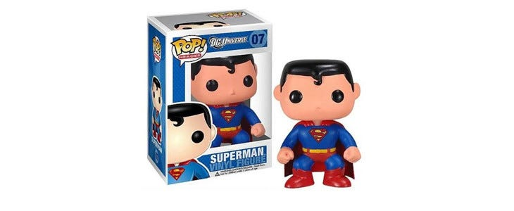 Funko POP Superman - collection Heroes