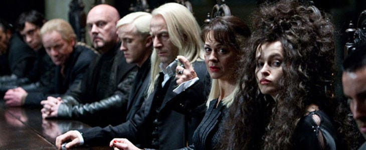 Harry Potter - les Mangemorts