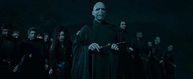 Voldemort dans la saga Harry Potter