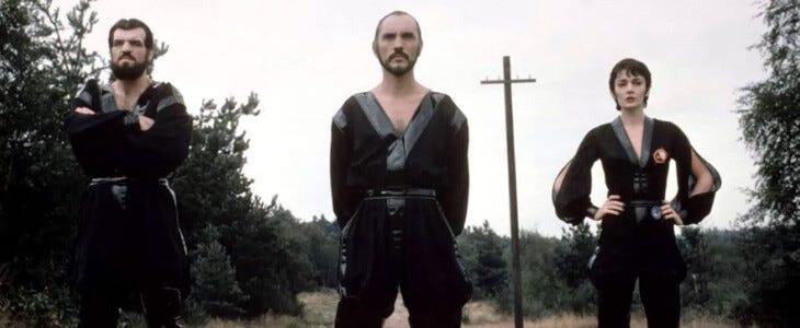 Le Général Zod incarné par Terence Stamp