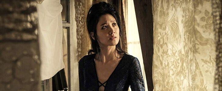 Nagini est incarnée par Claudia Kim dans Les Crimes de Grindelwald