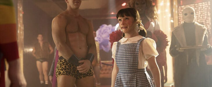 Abigail Shapiro incarne Dorothy Spinner dans la série Doom Patrol