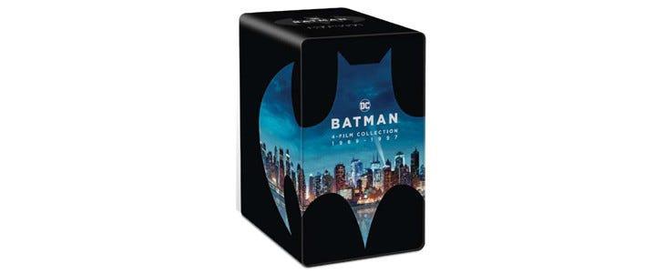 Batman 80 : le coffret 4 films Blu-ray 4K Ultra HD