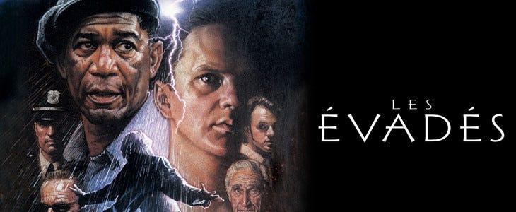 Les Évadés, adapté de la nouvelle de Stephen King.