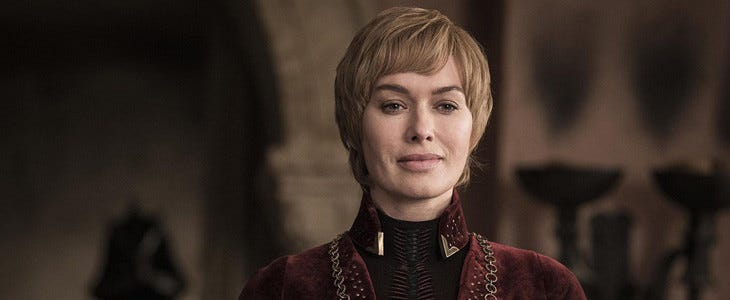 Cersei Lannister (Lena Headey) - Game of Thrones saison 8