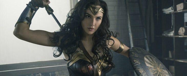 Gal Gadot incarne Wonder Woman sur grand écran.