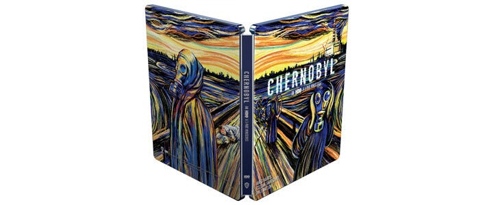 Découvrez la série Chernobyl, disponible dans une édition Steelbook en Blu-Ray 4K Ultra HD.